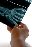 Inspecting X-Ray Stock Image