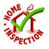 Inspection à la maison illustration stock