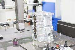 Inspection automotive part dimension Stock Photo