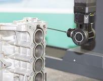Inspection automotive part dimension Stock Photography