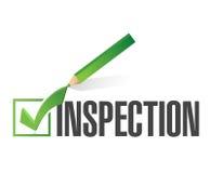 inspection check mark illustration design Stock Photo