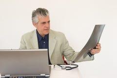 Inspection de docteur Image libre de droits