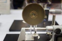 Inspection de lancement de vitesse par micromètre Images libres de droits