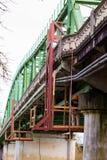 Inspection et réparations de pont image stock