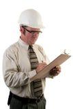 Inspector 4 de la construcción Foto de archivo