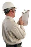 Inspector 5 de la construcción fotografía de archivo
