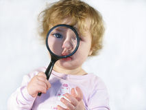 Inspector Baby Royalty Free Stock Photo