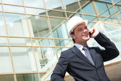 Inspector calling Royalty Free Stock Photo
