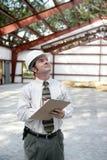 Inspector da construção - Copyspace Imagem de Stock Royalty Free
