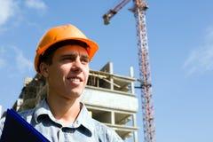 Inspector do construtor Imagens de Stock Royalty Free