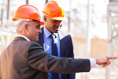 Inspectors power station Royalty Free Stock Photography