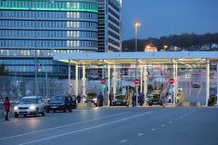 Inspektion von Fahrzeugen Lizenzfreies Stockfoto