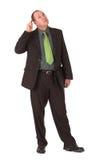 inspektor przemyśliwuje Zdjęcia Stock