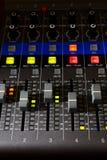 Inspelningblandarebräde - Headon 02 Royaltyfria Bilder