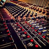 Inspelningstudio Royaltyfri Fotografi