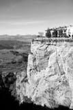 Inspiering cliffside widok Rhonda obrazy royalty free