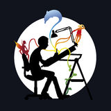 Inspiração ilustração do vetor