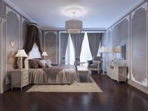 Inspiração para o quarto do hotel de luxo ilustração royalty free