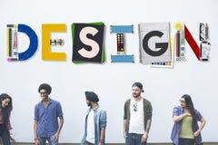 Inspiración creativa Art Style Concept del diseño fotografía de archivo