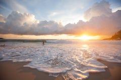 Inspiración de la puesta del sol fotos de archivo libres de regalías