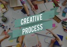Inspiración de proceso creativa Concep de la imaginación de la creatividad de las ideas imágenes de archivo libres de regalías