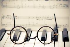 Inspiración musical Imagen de archivo libre de regalías