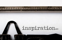 Inspiracja fotografia stock