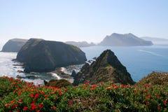 Inspiracja punkt, Anacapa wyspa Fotografia Stock