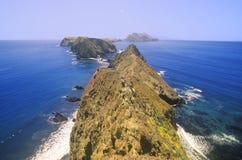 Inspiracja punkt na Anacapa wyspie, channel islands parki narodowi, Kalifornia Obrazy Royalty Free