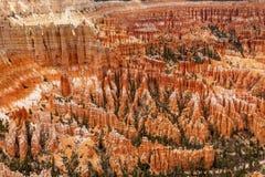 Inspiracja punktu Bryka jaru park narodowy Utah Obrazy Stock