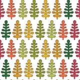 Inspiracja w jesieni liść deseniują bezszwowego Fotografia Royalty Free