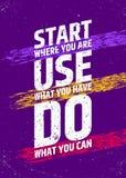 Inspiracyjny i motywacyjny plakat Bierze momentowi typograficznego pojęcie Wektorowa ilustracja dla prezentacj lub Zdjęcie Stock