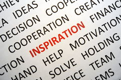 Inspiration Images stock