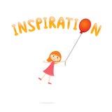inspiration vektor illustrationer