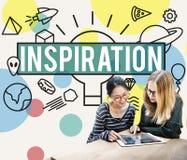 Inspiration Aspiration Confidence Creative Dream Concept.  Stock Image