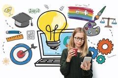 Inspiration Aspiration Sources Data Idea Ideas Concept Royalty Free Stock Photos