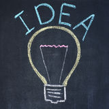 Inspiration bulb Stock Photography