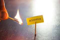 Inspiration concept Royalty Free Stock Photography