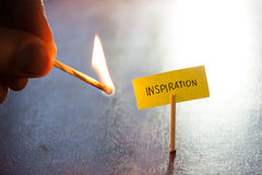 Inspiration concept Royalty Free Stock Photos