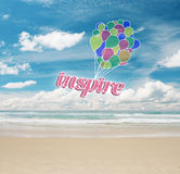 Inspiration concept Stock Photo