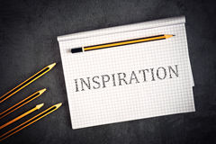 Inspiration Concept Stock Photography