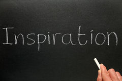 Inspiration d'écriture. Photo stock