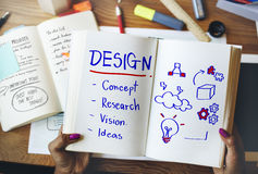 Inspiration Development Design Creative Thinking Concept Stock Photography