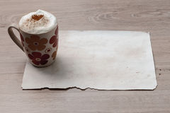 Inspiration douce de café image stock