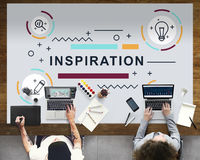 Inspiration Motivation Creative Innovation Graphic Concept Royalty Free Stock Images