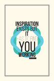 Inspiration motivation poster Stock Photo