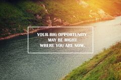 Inspiration Motivational Life Quotes on background design. Meaning words inspiration