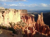 Inspiration Point. Is one of the viewpoint in Bryce Canyon National Park royalty free stock photography