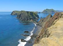 Inspiration Point, Anacapa. Near Inspiration Point, Anacapa Island, Channel Islands National Park, California Royalty Free Stock Photo