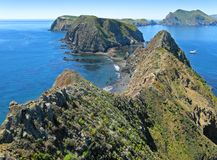 Inspiration Point, Anacapa  Royalty Free Stock Photography